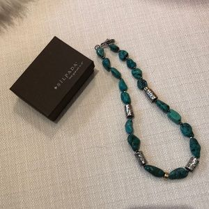 Silpada turquoise and sterling necklace